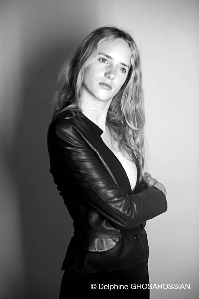 Zoé Le Ber, comédienne, Paris, 2012